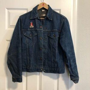 Vintage Wool Lined Levi's denim jacket
